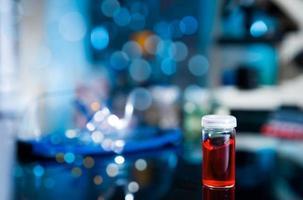 amostra biológica ou química foto