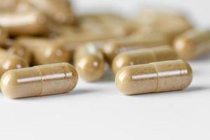 herbal em cápsulas foto