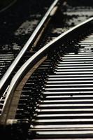 cruzamento de linha de trem