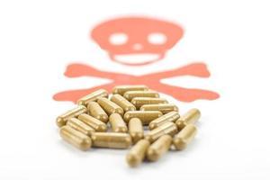 cápsulas de comprimidos foto