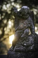 estatua de anjo foto