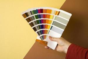 selecionando cor foto