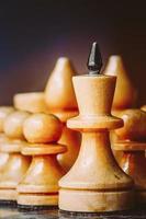 líder de xadrez foto