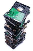 empilhar unidades de disco rígido foto