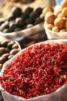 souk de especiarias; dubai; árabe foto