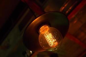 lâmpadas edison foto