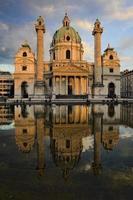 Viena, Áustria - karlskirche 2