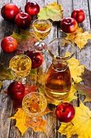 bebida de maçã foto