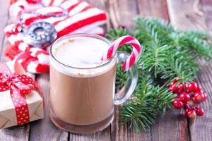 bebida de natal foto