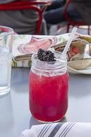bebida lemonaid de amora