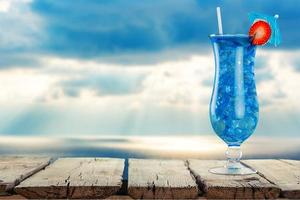 coquetel, bebida, copo