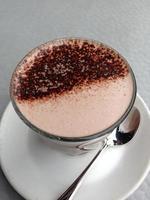 bebida de chocolate quente