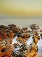 bela vista do mar foto