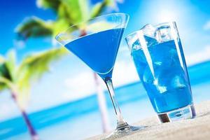 bebida tropical foto