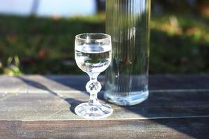 beber ao ar livre foto
