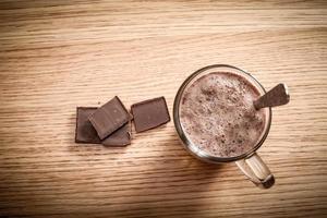 bebida de chocolate