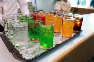 refrigerante de cor foto