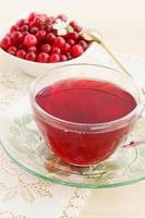 bebida fresca cranberry foto