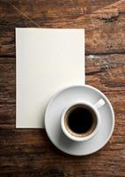 café e carta