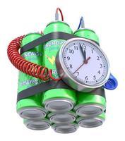 bomba de bebida energética foto
