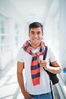 estudante feliz foto