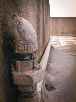 tubo de fornecedor de água potável foto