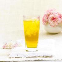 crisântemo bebidas de ervas tailandesas foto