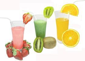 smoothie de coquetéis de frutas bebidas foto