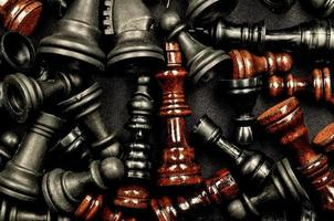 textura de xadrez foto