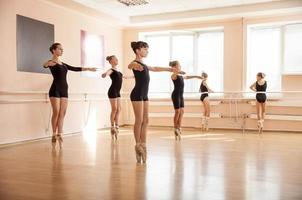 estudantes de dança