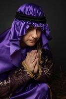 adoração e oração foto