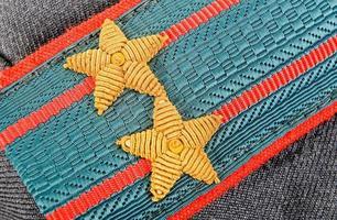 alça de ombro do tenente-coronel da polícia russa