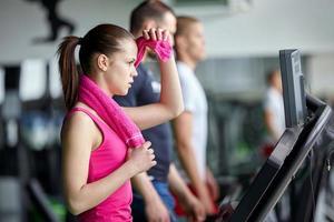 esteira de fitness foto