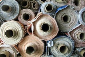 rolos de tecido foto