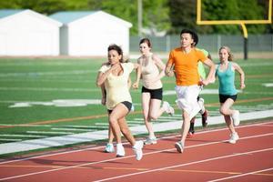 corredores de treinamento