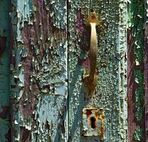 aldrava de bronze marrom espanha canarias abstrato eu foto