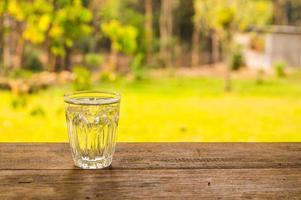 copo de bebida. foto