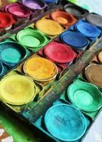tintas coloridas foto