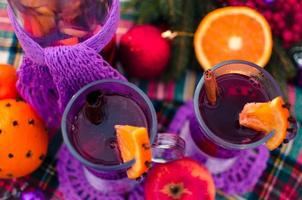 vinho quente bebida de natal
