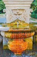 bebedouro em Roma, Itália foto