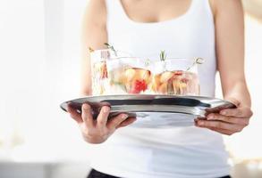 bebidas frutadas e deliciosas foto