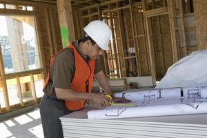 trabalhador da construção foto