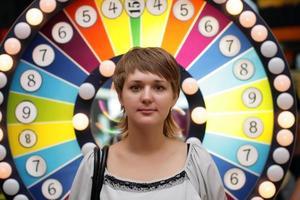 menina no casino foto