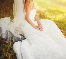 lindo vestido branco foto