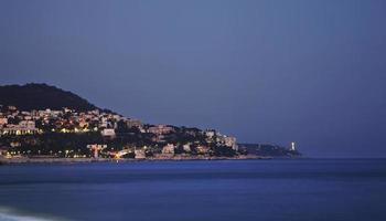 agradável no crepúsculo. França foto