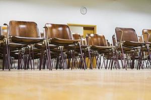 sala de aula vazia foto