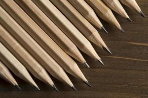 lápis de grafite foto