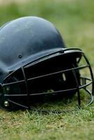 capacete de batedura foto