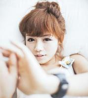 menina chinesa foto