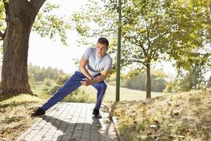 fitness ao ar livre foto